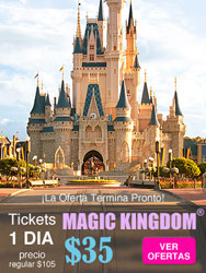 Tickets Magic Kingdom