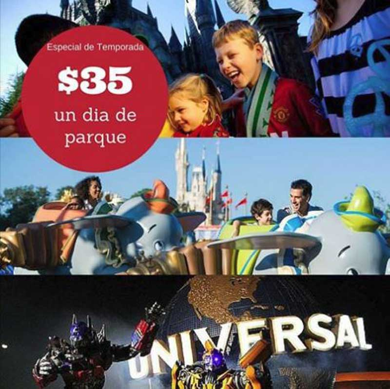 TICKETS PARQUES EN OFERTA !
