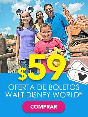 Disney Tickets en oferta